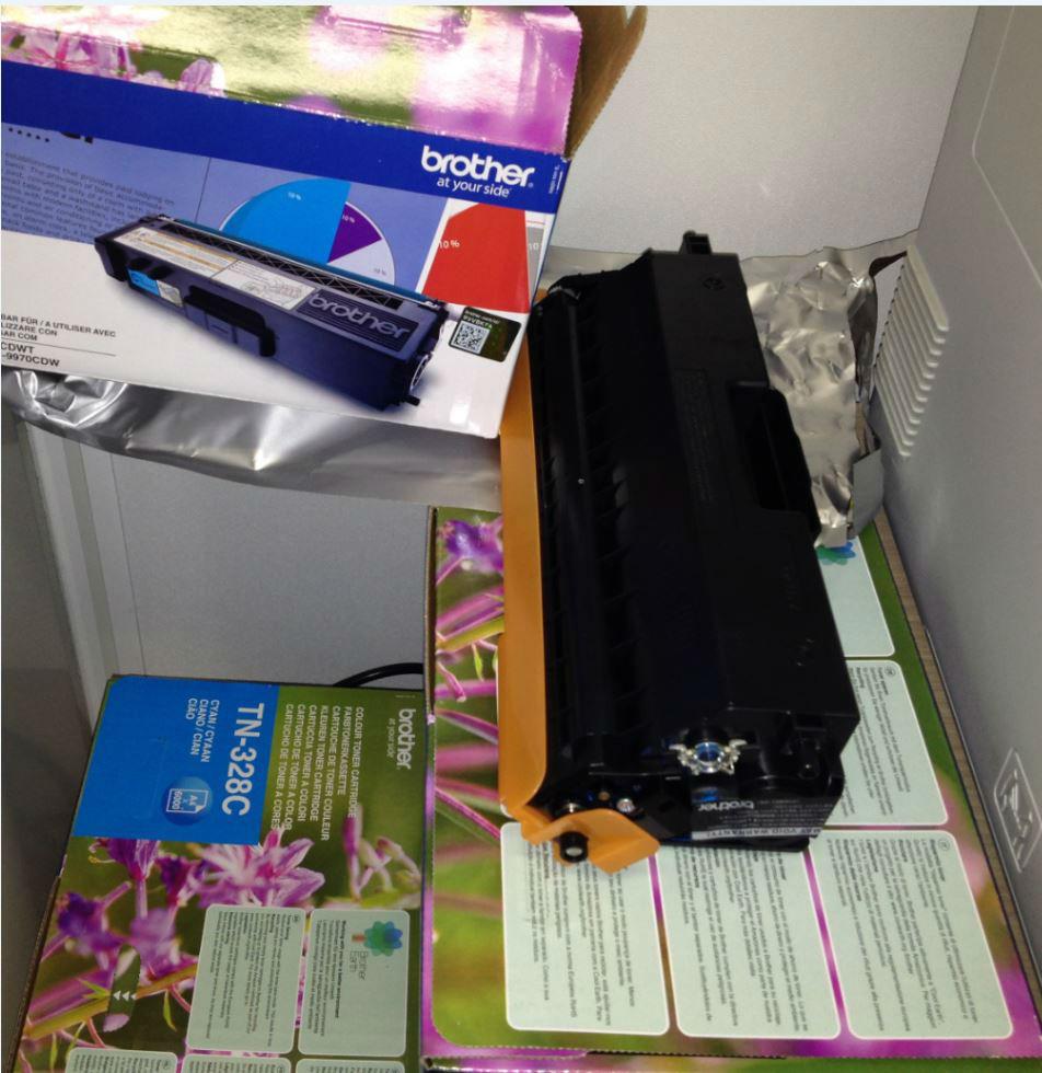 Recharges de cartouches d'encre recyclables
