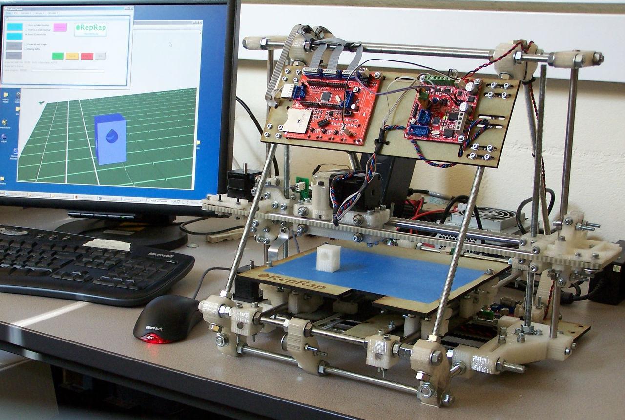 Voici un prototype d'imprimante 3D, avec assistance par ordinateur